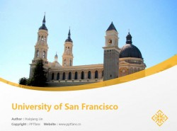 University of San Francisco powerpoint template download | 旧金山大学PPT模板下载