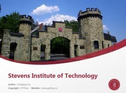 Stevens Institute of Technology powerpoint template download   斯蒂文斯理工学院PPT模板下载