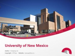 University of New Mexico powerpoint template download | 新墨西哥大学PPT模板下载