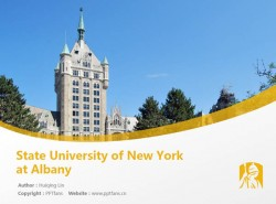 State University of New York at Albanypowerpoint template download | 纽约州立大学奥尔巴尼分校PPT模板下载