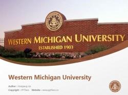 Western Michigan University powerpoint template download | 西密歇根大学PPT模板下载