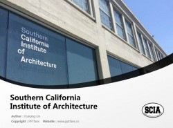 Southern California Institute of Architecture powerpoint template download | 南加州建筑学院PPT模板下载