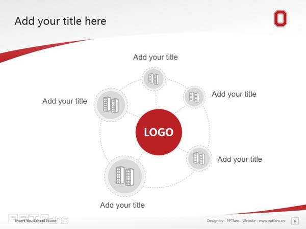 Ohio State University powerpoint template download | 俄亥俄州立大学PPT模板下载_slide6