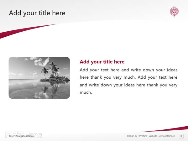 Fordham University powerpoint template download | 福德汉姆大学PPT模板下载_slide3
