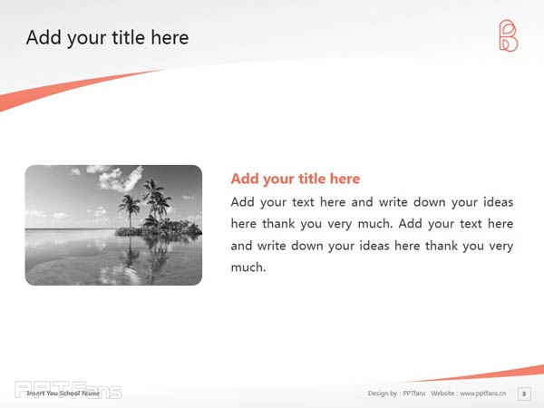 Bank Street College of Education powerpoint template download   银行街教育学院PPT模板下载_slide4