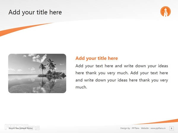 California Institute of Technology powerpoint template download | 加州理工学院PPT模板下载_slide3
