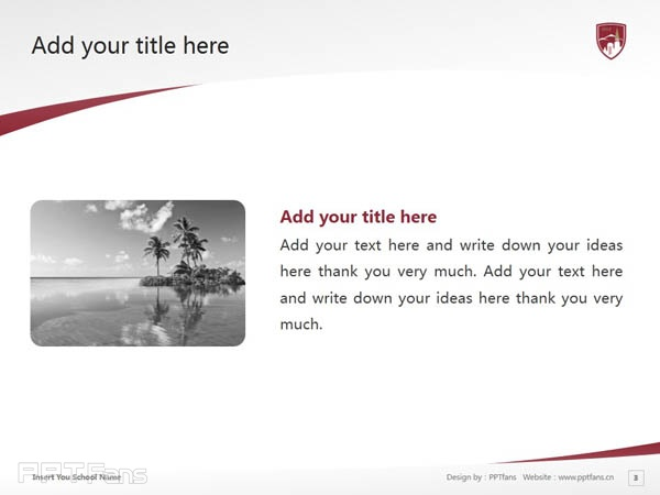 University of Denver powerpoint template download | 丹佛大学PPT模板下载_slide4