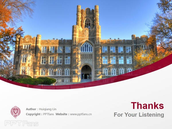 Fordham University powerpoint template download | 福德汉姆大学PPT模板下载_slide17
