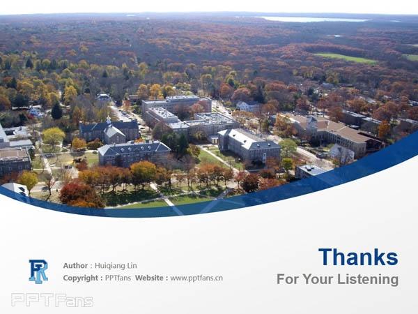 University of Rhode Island powerpoint template download | 罗德岛大学PPT模板下载_slide18