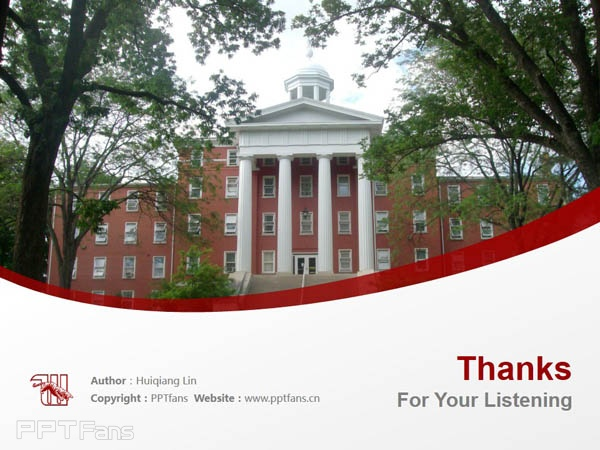 Wittenberg University powerpoint template download | 威腾堡大学PPT模板下载_slide18