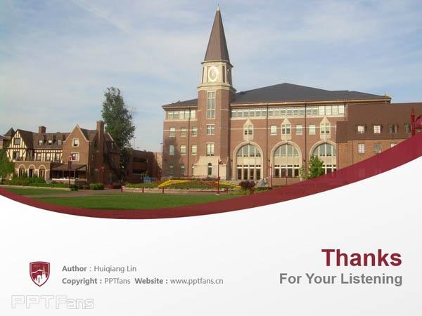 University of Denver powerpoint template download | 丹佛大学PPT模板下载_slide18