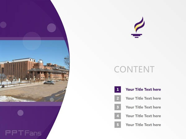 Minnesota State University, Mankato powerpoint template download | 明尼苏达州立大学曼卡托分校PPT模板下载_slide2