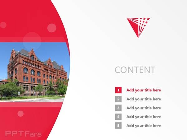 Illinois Institute of Technology powerpoint template download | 伊利诺斯理工学院PPT模板下载_slide1