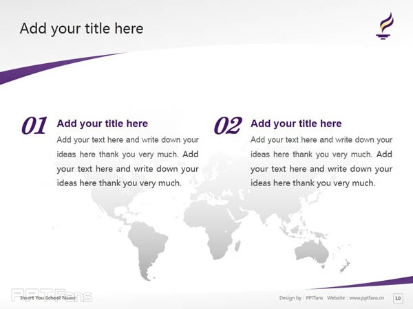 Minnesota State University, Mankato powerpoint template download | 明尼苏达州立大学曼卡托分校PPT模板下载_slide11