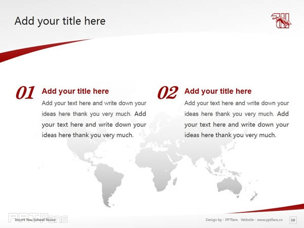 Wittenberg University powerpoint template download | 威腾堡大学PPT模板下载_slide11
