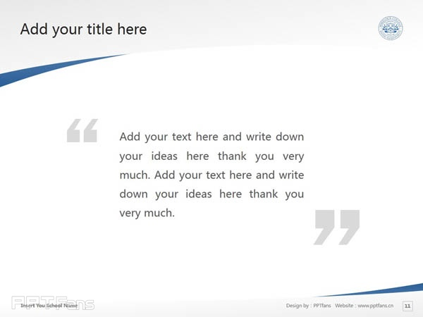 Wheelock College powerpoint template download   惠洛克学院PPT模板下载_slide12