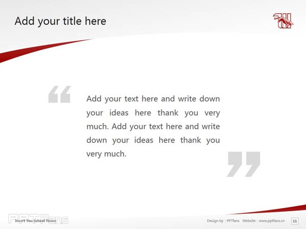 Wittenberg University powerpoint template download | 威腾堡大学PPT模板下载_slide12