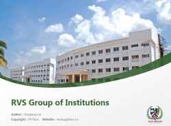 RVS Group of Institutions powerpoint template download | 巴拉蒂尔大学RVS学院PPT模板下载