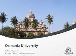 Osmania University powerpoint template download | 奥斯马尼亚大学PPT模板下载