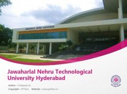 Jawaharlal Nehru Technological University Hyderabad powerpoint template download | 尼赫鲁科技大学PPT模板下载