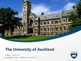 The University of Auckland powerpoint template download | 奥克兰大学PPT模板下载