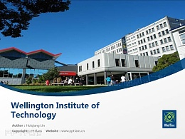 Wellington Institute of Technology powerpoint template download | 惠灵顿理工学院PPT模板下载