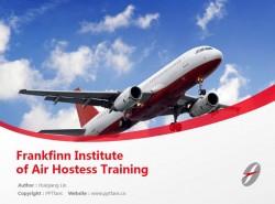 Frankfinn Institute of Air Hostess Training powerpoint template download | 弗兰克芬空姐培训学院PPT模板下载