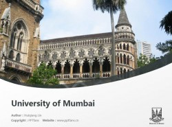 University of Mumbai powerpoint template download | 孟买大学PPT模板下载
