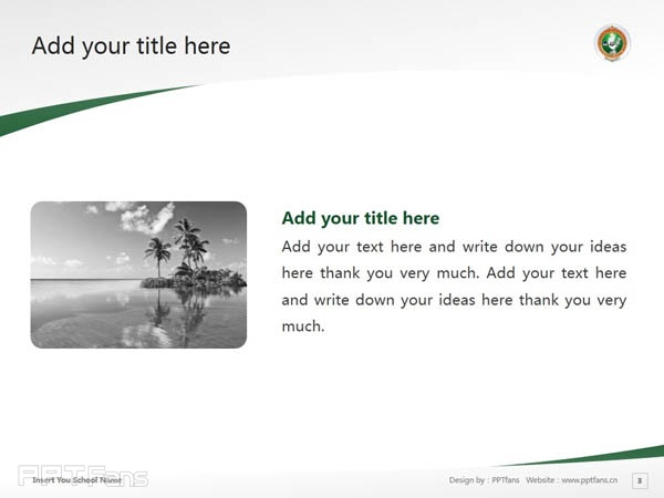 Visvesvaraya Technological University powerpoint template download | 韦斯科技大学PPT模板下载_slide4