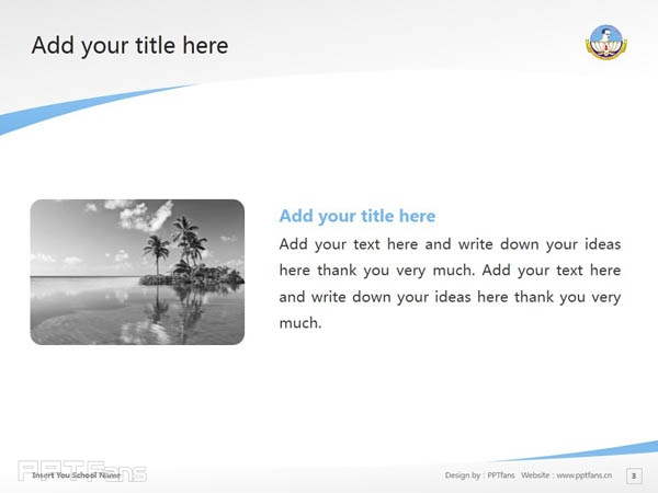 Bharathidasan University powerpoint template download | 巴拉迪大学PPT模板下载_slide4
