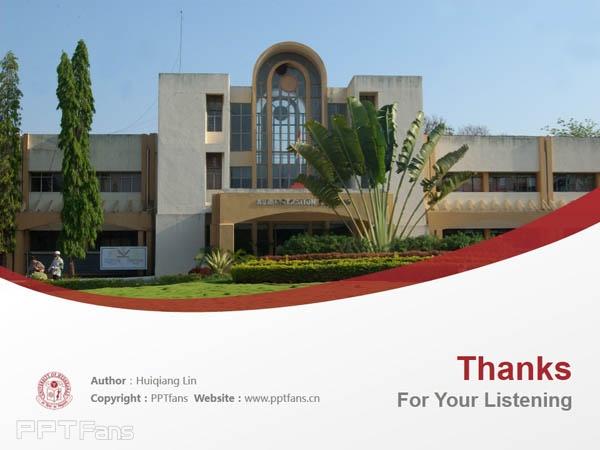 University of Hyderabad powerpoint template download | 海得拉巴大学PPT模板下载_幻灯片预览图18