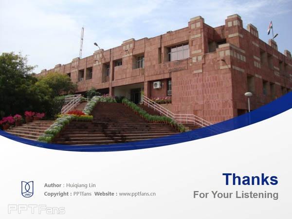 Jawaharlal Nehru University powerpoint template download | 尼赫鲁大学PPT模板下载_幻灯片预览图18