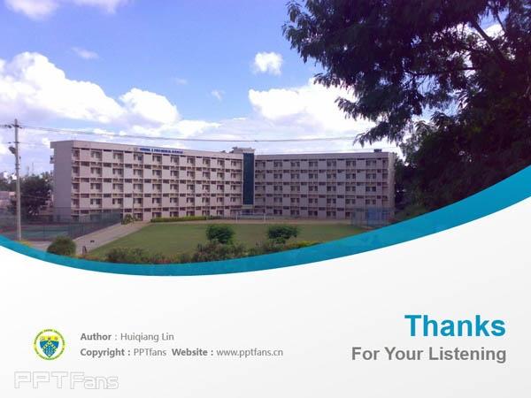 Dayananda Sagar Instituions powerpoint template download | 班加羅爾大學薩格學院PPT模板下載_幻燈片預覽圖18