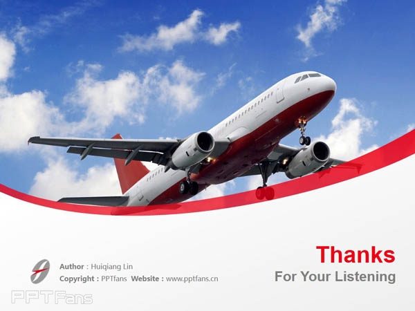 Frankfinn Institute of Air Hostess Training powerpoint template download | 弗兰克芬空姐培训学院PPT模板下载_幻灯片预览图18