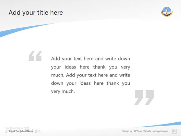 Bharathidasan University powerpoint template download | 巴拉迪大学PPT模板下载_slide12