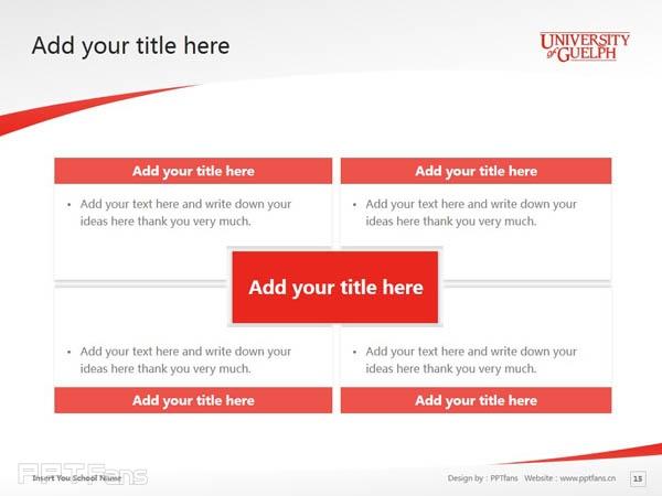 University of Guelph powerpoint template download | 圭尔夫大学PPT模板下载_幻灯片预览图16