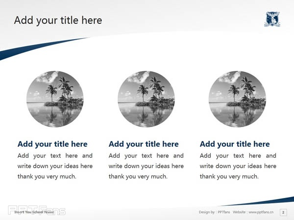The University of Melbourne powerpoint template download | 墨尔本大学PPT模板下载_slide3
