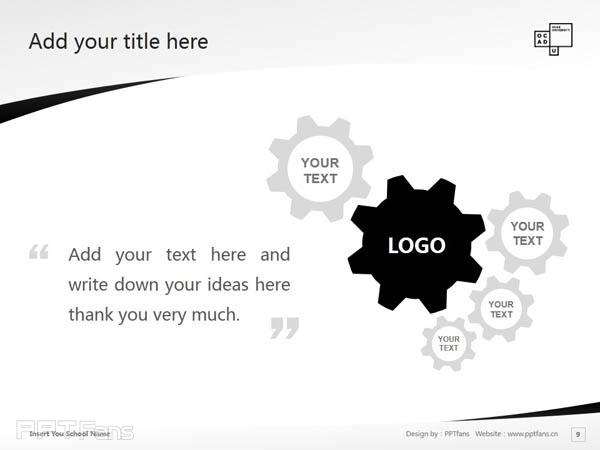 Ontario College of Art & Design powerpoint template download | 安大略艺术设计学院大学PPT模板下载_幻灯片预览图10