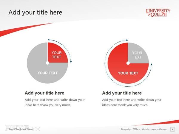 University of Guelph powerpoint template download | 圭尔夫大学PPT模板下载_幻灯片预览图6
