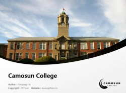 Camosun College powerpoint template download | 卡莫森学院PPT模板下载
