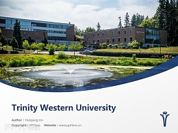 Trinity Western University powerpoint template download | 西三一大学PPT模板?#30053;? title=