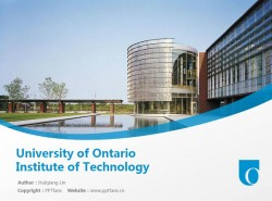 University of Ontario Institute of Technology powerpoint template download | 安大略理工大学PPT模板下载