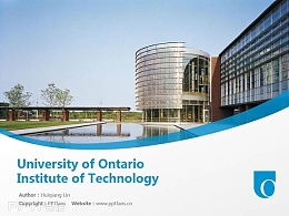 University of Ontario Institute of Technology powerpoint template download | 安大略理工大学PPT模板?#30053;? title=