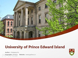 University of Prince Edward Island powerpoint template download | 爱德华王子岛大学PPT模板?#30053;? title=