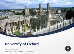 University of Oxford powerpoint template download | 牛津大学PPT模板下载