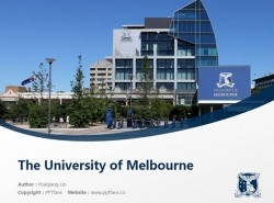 The University of Melbourne powerpoint template download | 墨尔本大学PPT模板下载