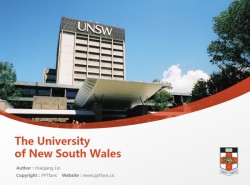 The University of New South Wales powerpoint template download | 新南威尔士大学PPT模板下载