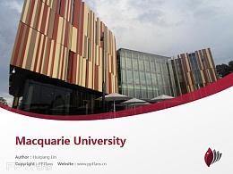 Macquarie University powerpoint template download | 麦考瑞大学PPT模板下载