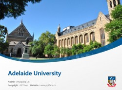 Adelaide University powerpoint template download | 阿德莱德大学PPT模板下载