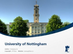University of Nottingham powerpoint template download | 诺丁汉大学PPT模板下载